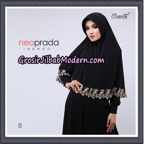 Jilbab Cantik NeoPrada Bergo Original By Oneto Hijab Brand No 8