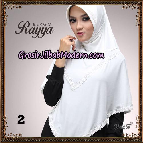 Jilbab Instant Bergo Rayya Original By Oneto Hijab Brand No 2