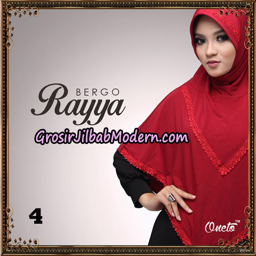 Jilbab Instant Bergo Rayya Original By Oneto Hijab Brand No 4