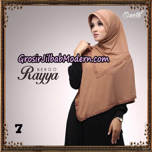 Jilbab Instant Bergo Rayya Original By Oneto Hijab Brand No 7