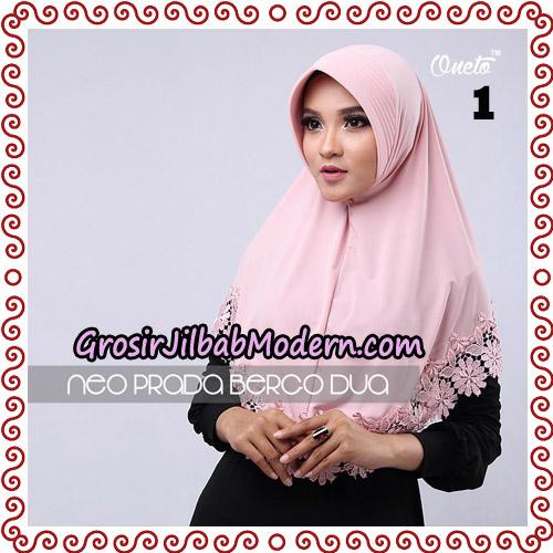 Jilbab Instant NeoPrada Bergo Dua Original By Oneto Hijab Brand No 1