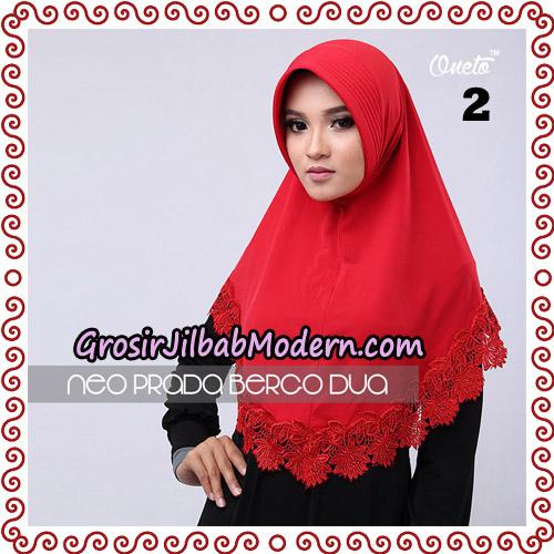 Jilbab Instant NeoPrada Bergo Dua Original By Oneto Hijab Brand No 2