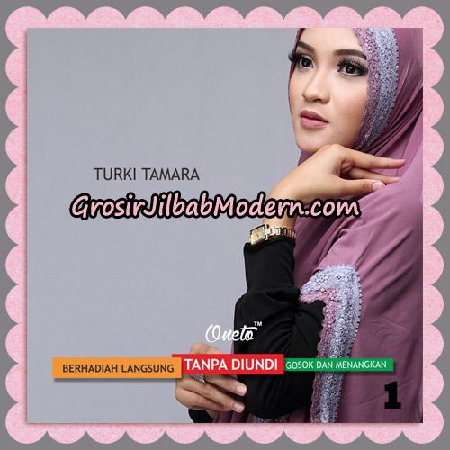 Jilbab Syari Cantik Khimar Turki Tamara Support Oneto No 1