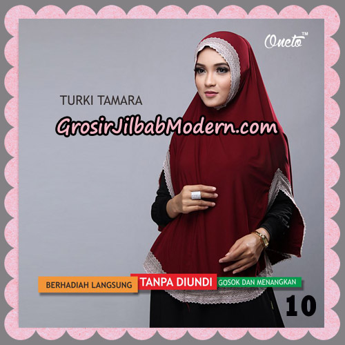 Jilbab Syari Cantik Khimar Turki Tamara Support Oneto No 10