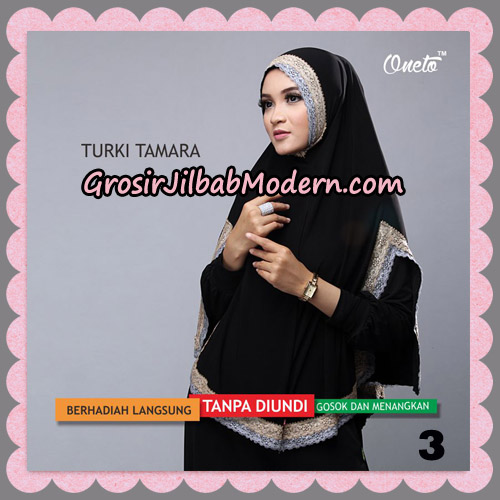 Jilbab Syari Cantik Khimar Turki Tamara Support Oneto No 3