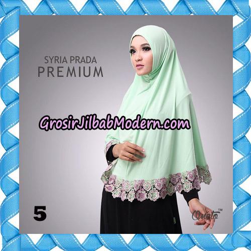 Jilbab Syria Prada Premium Mawar Original By Oneto Hijab Brand No 5