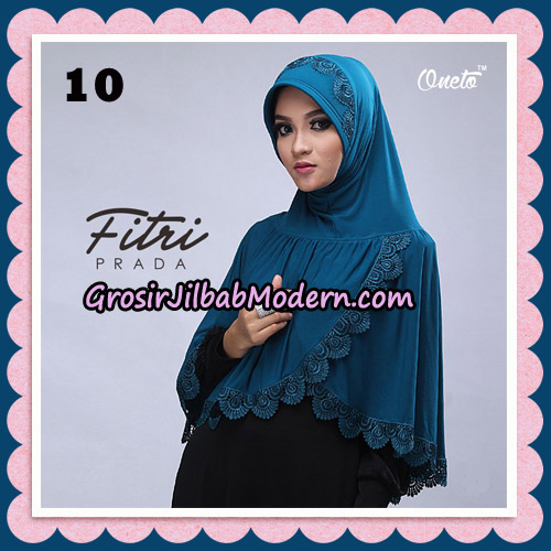 Jilbab Cantik Fitri Prada Bergo Original By Oneto Hijab Brand No 10