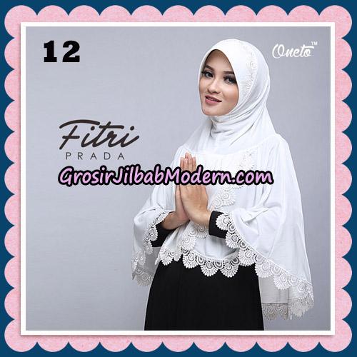Jilbab Cantik Fitri Prada Bergo Original By Oneto Hijab Brand No 12