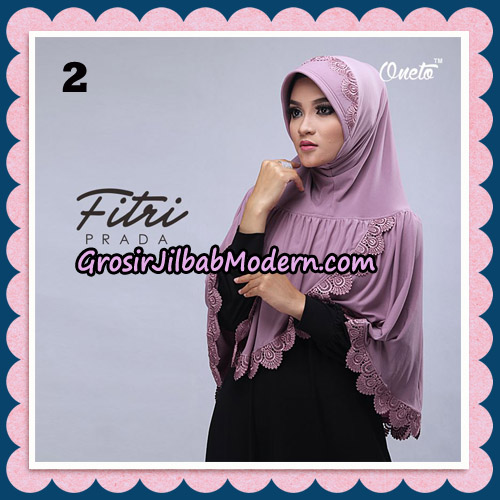 Jilbab Cantik Fitri Prada Bergo Original By Oneto Hijab Brand No 2