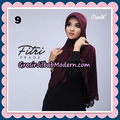 Jilbab Cantik Fitri Prada Bergo Original By Oneto Hijab Brand No 9