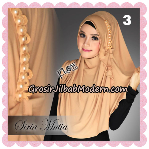 Jilbab Cantik Instant Syria Mutia Original By Flow Idea NO 3