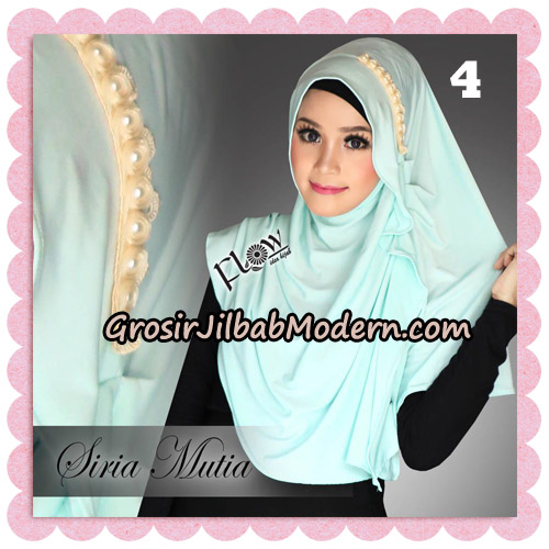 Jilbab Cantik Instant Syria Mutia Original By Flow Idea NO 4