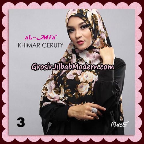 Jilbab Cantik Khimar Ceruty Original By AlMia Brand No 3