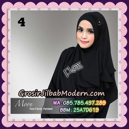Jilbab Cantik New Instant 2 Faces Half Moon Original By Flow Idea No 4