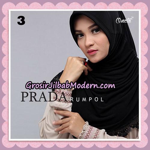 Jilbab Cantik Prada Rumpol Original By Oneto Hijab Brand No 3