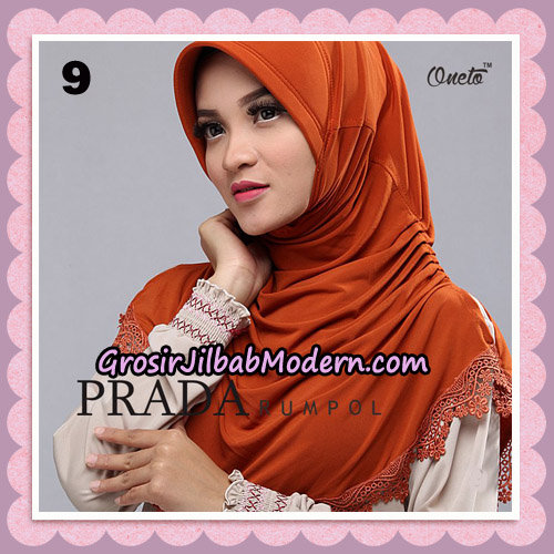 Jilbab Cantik Prada Rumpol Original By Oneto Hijab Brand No 9