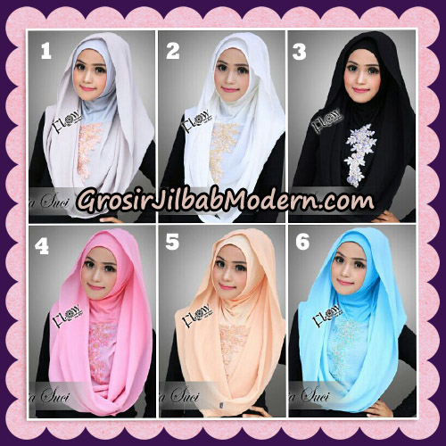Jilbab Instant Cantik Deeja Suci Original By Flow Idea