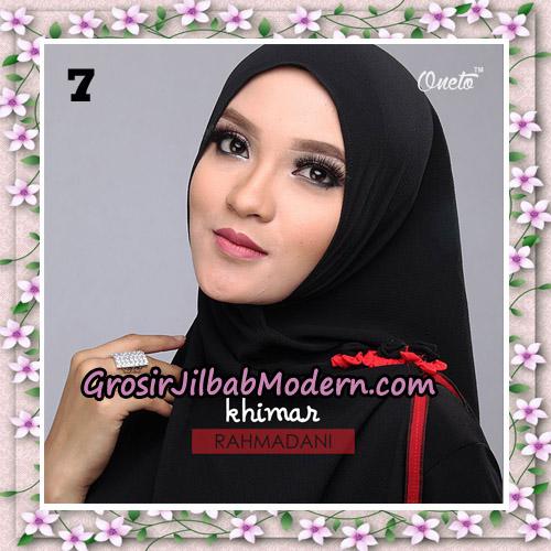 Jilbab Instant Khimar Rahmadani Original By Star Support Oneto Hijab No 7