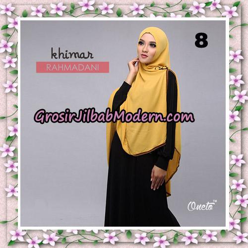 Jilbab Instant Khimar Rahmadani Original By Star Support Oneto Hijab No 8