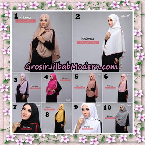 Jilbab Instant Khimar Rahmadani Original By Star Support Oneto Hijab