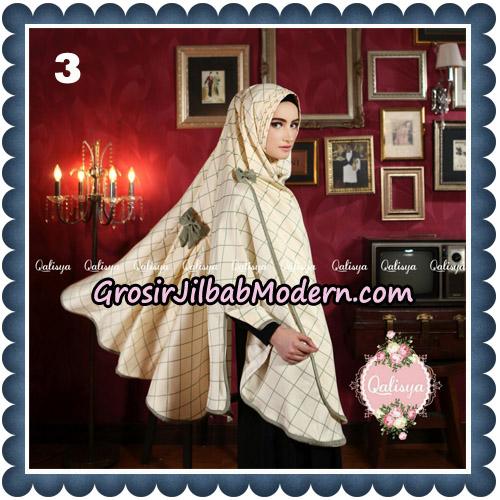 Jilbab Syari Khimar Lauza Original by Qalisya Hijab Brand No 3