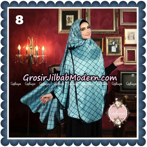 Jilbab Syari Khimar Lauza Original by Qalisya Hijab Brand No 8