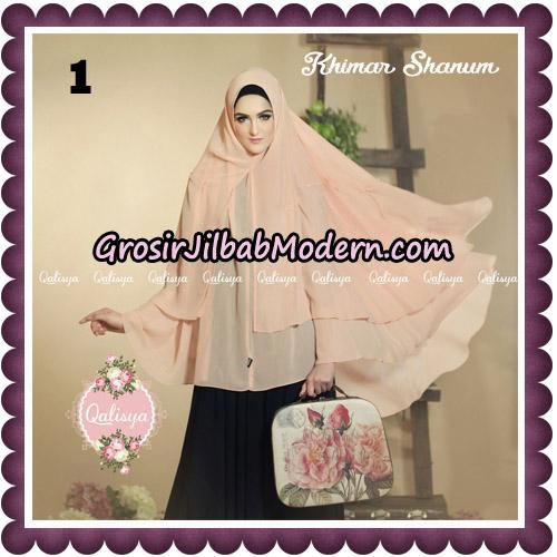 Jilbab Syari Khimar Shanum Original by Qalisya Hijab Brand No 1