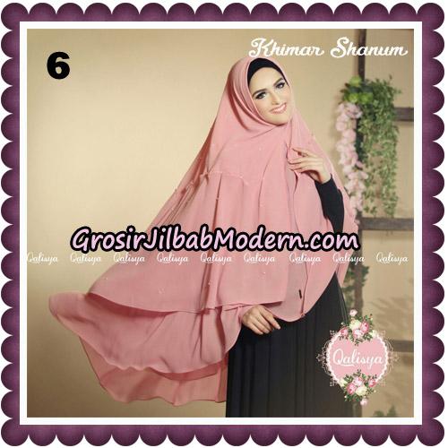 Jilbab Syari Khimar Shanum Original by Qalisya Hijab Brand No 6