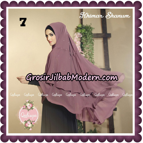 Jilbab Syari Khimar Shanum Original by Qalisya Hijab Brand No 7
