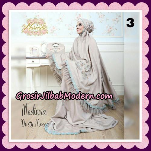 Medinna Set Mukena dan Tas Cantik Original By Narinda Hijab Brand No 3