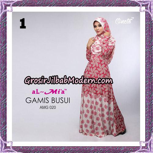 Setelan Gamis Loli Cantik AMG 020 Original By AlMia Brand No 1
