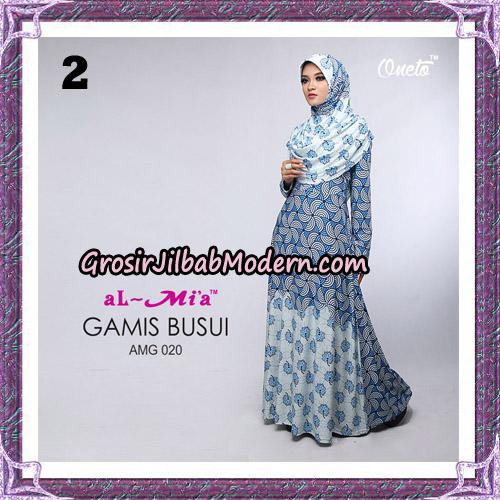Setelan Gamis Loli Cantik AMG 020 Original By AlMia Brand No 2