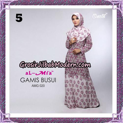Setelan Gamis Loli Cantik AMG 020 Original By AlMia Brand No 5