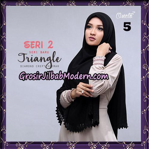 Jilbab Cantik Khimar Lipit Triangle Seri 2 Original By Oneto Hijab Brand No 5