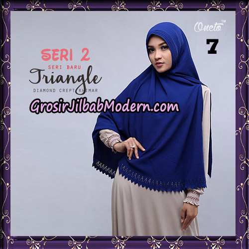 Jilbab Cantik Khimar Lipit Triangle Seri 2 Original By Oneto Hijab Brand No 7