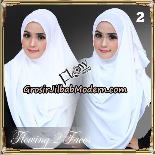 Jilbab Instant Flowing 2 Faces Bunda Widya Henidar Amroe Original By Flow Idea No 2