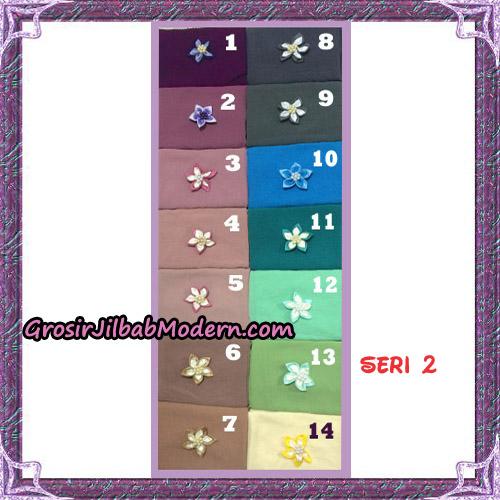 Jilbab Polos 2 Lapis Safa Khimar Seri 2 Support By Oneto Hijab - seri