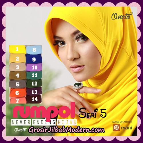 Jilbab Syria Layer Cantik Rumana Polos Seri 5 Support By Oneto Hijab