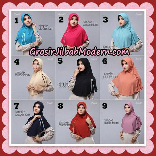 Jilbab Bergo Simple Hijab Seri 26 Original By Firza Hijab Brand
