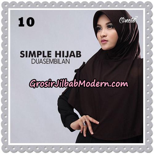 Jilbab Bergo Simple Hijab Seri 29 Original By Firza Hijab Brand No 10