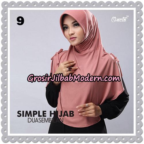 Jilbab Bergo Simple Hijab Seri 29 Original By Firza Hijab Brand No 9