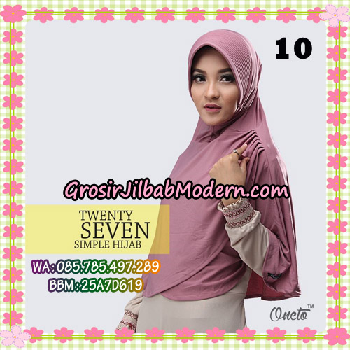 Jilbab Bergo Simple Hijab Twenty Seven Original By Firza Hijab Brand No 10