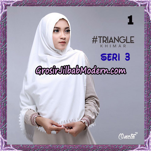 Jilbab Cantik Khimar Lipit Triangle Seri 3 Original By Oneto Hijab Brand No 1
