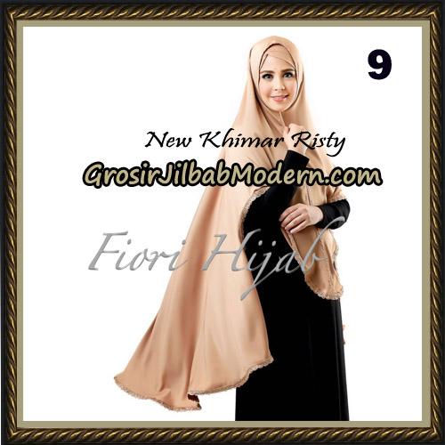 Jilbab Cantik New Khimar Risty Original by Fiori Hijab Brand No 9