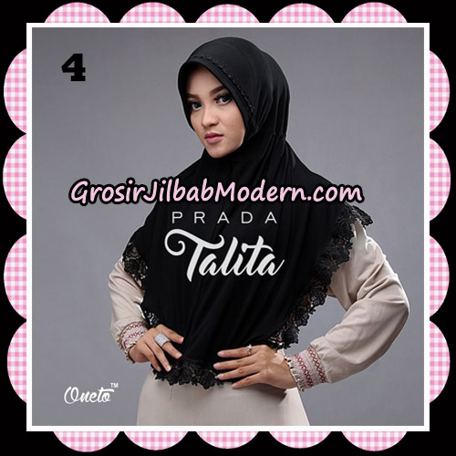 Jilbab Cantik Prada Talita Original By Oneto Hijab Brand No 4