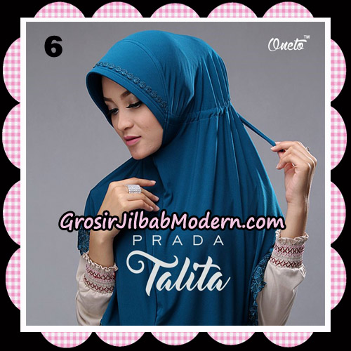 Jilbab Cantik Prada Talita Original By Oneto Hijab Brand No 6