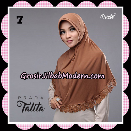 Jilbab Cantik Prada Talita Original By Oneto Hijab Brand No 7