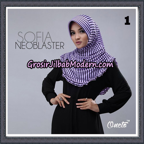Jilbab Cantik Sofia Neoblaster Original By Oneto Hijab Brand No 1