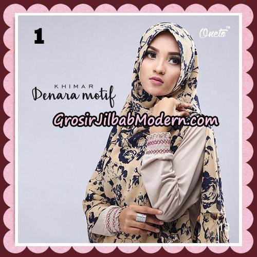 Jilbab Instant Khimar Denara Motif Original By Oneto Hijab Brand No 1