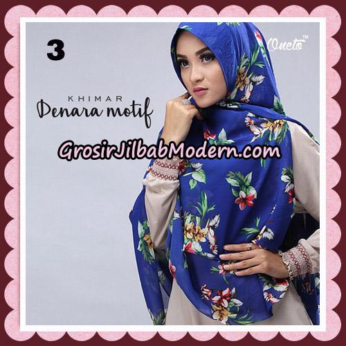 Jilbab Instant Khimar Denara Motif Original By Oneto Hijab Brand No 3